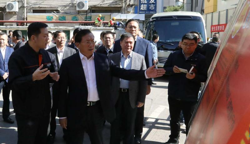 省委常委、市委书记王忠林到济南热力集团调研供热准备情况